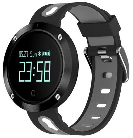 Bratara Fitness iUni DM58 Plus, Waterproof, Display OLED, Ceas, Pedometru, Monitorizare puls, Notifi